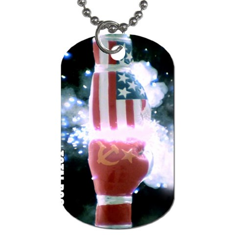 By Alcadic   Dog Tag (one Side)   Qcy8drgzxzvp   Www Artscow Com Front