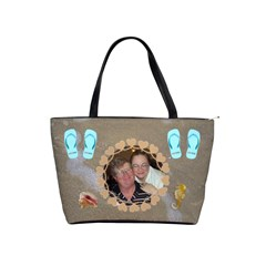 Beachy Classic Handbag #2 By Joy Johns   Classic Shoulder Handbag   99q93dj1y4na   Www Artscow Com Front