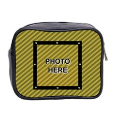 Family Mini Toiletries Bag By Joy Johns   Mini Toiletries Bag (two Sides)   V9i87dzsymsn   Www Artscow Com Back