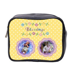Blessings Mini Toiletries Bag By Joy Johns   Mini Toiletries Bag (two Sides)   8noxpnngpcx1   Www Artscow Com Front