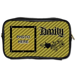 Family Toiletries Bag By Joy Johns   Toiletries Bag (two Sides)   Lged4djptoq5   Www Artscow Com Front