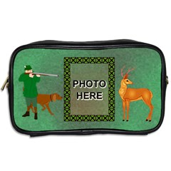 Hunter s Toiletries Bag  By Joy Johns   Toiletries Bag (two Sides)   X5883q0ote2y   Www Artscow Com Back