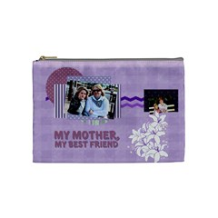 Mothers Day By Mom   Cosmetic Bag (medium)   Qi3leuvutwcc   Www Artscow Com Front