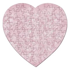 Elegant Vintage Paisley  Jigsaw Puzzle (heart) by StuffOrSomething
