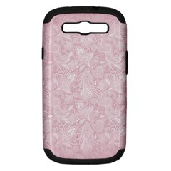 Elegant Vintage Paisley  Samsung Galaxy S Iii Hardshell Case (pc+silicone) by StuffOrSomething