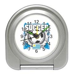Soccer Uruguay Travel Alarm Clock by MegaSportsFan