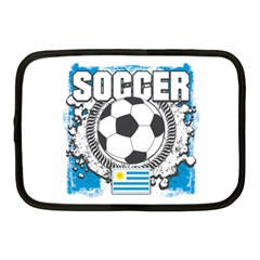 Soccer Uruguay Netbook Case (medium) by MegaSportsFan