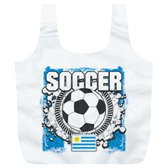 Soccer Uruguay Full Print Recycle Bag (xl)
