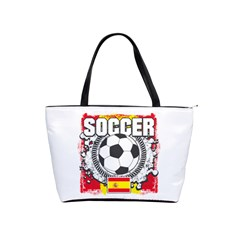 Soccer Spain Classic Shoulder Handbag by MegaSportsFan