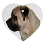 English Mastiff Ornament (Heart)