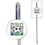 Soccer Brazil Book Mark Front