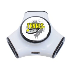 Tennis 3 Port Usb Hub by MegaSportsFan