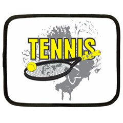 Tennis Netbook Case (xxl) by MegaSportsFan