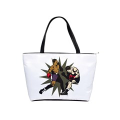 Knockout Boxing Classic Shoulder Handbag by MegaSportsFan