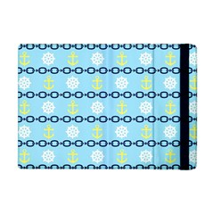 Anchors & Boat Wheels Apple Ipad Mini Flip Case by StuffOrSomething