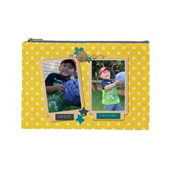 Cosmetic Bag (l : Boys 4 By Jennyl   Cosmetic Bag (large)   Oohab5yexphh   Www Artscow Com Front