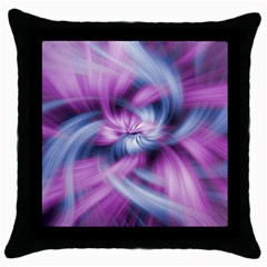 Mixed Pain Signals Black Throw Pillow Case by FunWithFibro