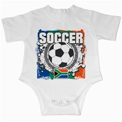 Soccer South Africa Infant Creeper by MegaSportsFan