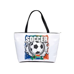 Soccer South Africa Classic Shoulder Handbag by MegaSportsFan