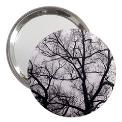 Tree 3  Handbag Mirror