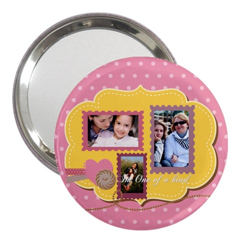 Mothers Day By Mom   3  Handbag Mirror   38zhdqk3o752   Www Artscow Com Front
