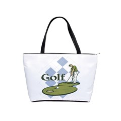 Classic Golf Classic Shoulder Handbag by MegaSportsFan