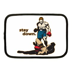 Stay Down Boxing Netbook Case (medium)
