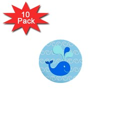 Playing In The Waves 1  Mini Button (10 Pack) by StuffOrSomething