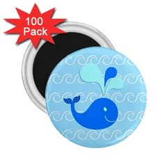Playing In The Waves 2 25  Button Magnet (100 Pack) by StuffOrSomething