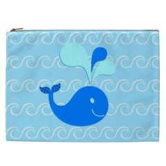 Playing In The Waves Cosmetic Bag (xxl) by StuffOrSomething