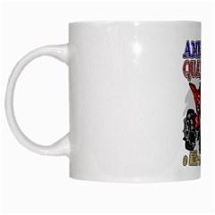 American Quad White Mug by MegaSportsFan