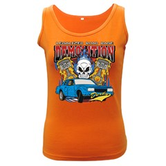 Demolition Derby Women s Dark Tank Top by MegaSportsFan