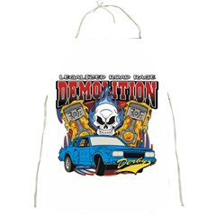 Demolition Derby Full Print Apron by MegaSportsFan