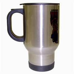 Demolition Derby Travel Mug (silver Gray) by MegaSportsFan