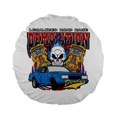 Demolition Derby 15  Premium Round Cushion  by MegaSportsFan
