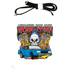 Demolition Derby Shoulder Sling Bag by MegaSportsFan