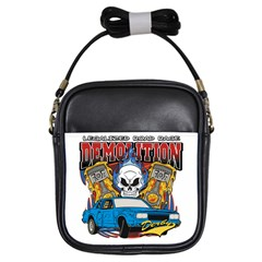 Demolition Derby Girls Sling Bag by MegaSportsFan