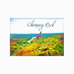Chimney Rock Overlook Air Brushed Canvas 16  X 16  (unframed) by Majesticmountain