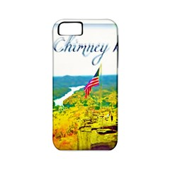 Chimney Rock Overlook Air Brushed Apple Iphone 5 Classic Hardshell Case (pc+silicone) by Majesticmountain