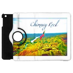 Chimney Rock Overlook Air Brushed Apple Ipad Mini Flip 360 Case by Majesticmountain