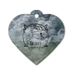 Once Upon A Time Dog Tag Heart (one Sided)  by StuffOrSomething