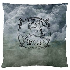 Once Upon A Time Large Cushion Case (single Sided)  by StuffOrSomething