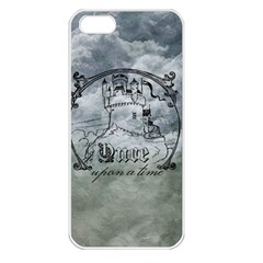 Once Upon A Time Apple Iphone 5 Seamless Case (white) by StuffOrSomething