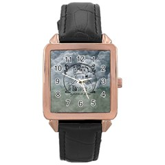 Once Upon A Time Rose Gold Leather Watch  by StuffOrSomething