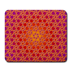 Radial Flower Large Mouse Pad (rectangle) by SaraThePixelPixie