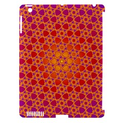 Radial Flower Apple Ipad 3/4 Hardshell Case (compatible With Smart Cover) by SaraThePixelPixie