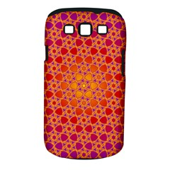 Radial Flower Samsung Galaxy S Iii Classic Hardshell Case (pc+silicone) by SaraThePixelPixie