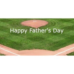 Baseball Fathers Day Card By Kim Blair Front