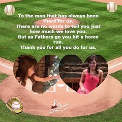 Baseball Fathers Day Card By Kim Blair Inside