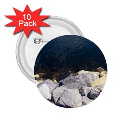 Atlantic Ocean 2.25  Button (10 pack) by DmitrysTravels